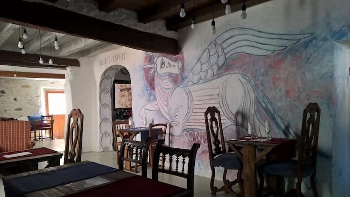 Chambre d'hôte chaleureuse proche église rupestre