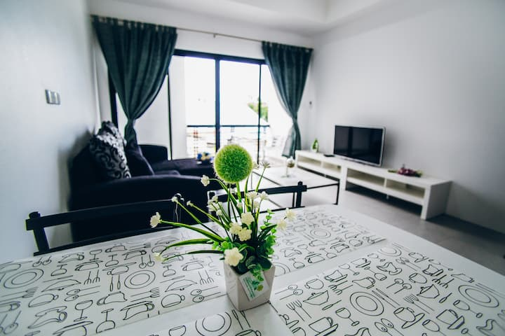 Furnished apartment 56 sqm.