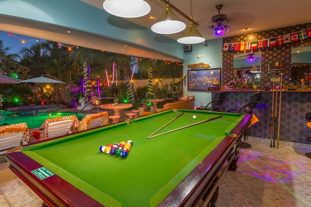 Pool & Snooker played here FREE!!