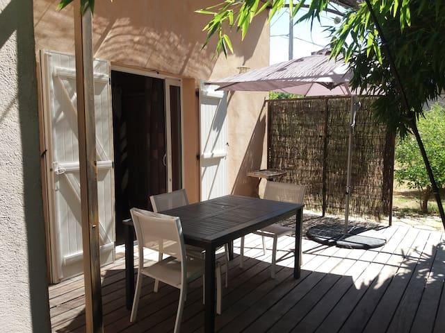 terrasse privative BAMBOU