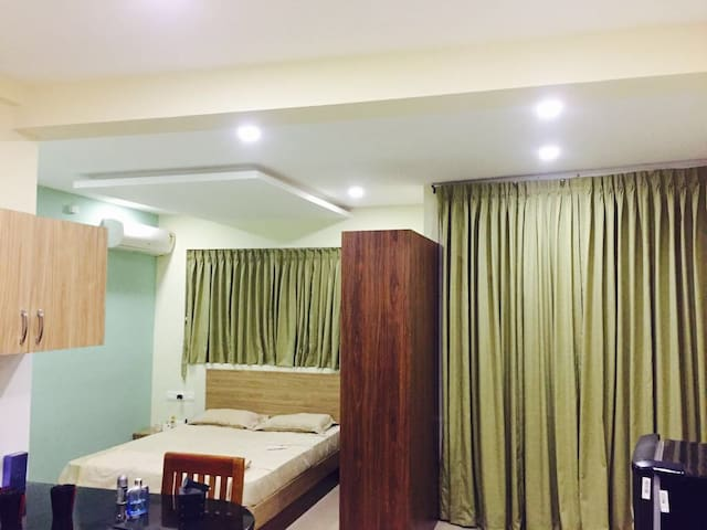 Piece full and best ambience,Swimming pool,Gym etc