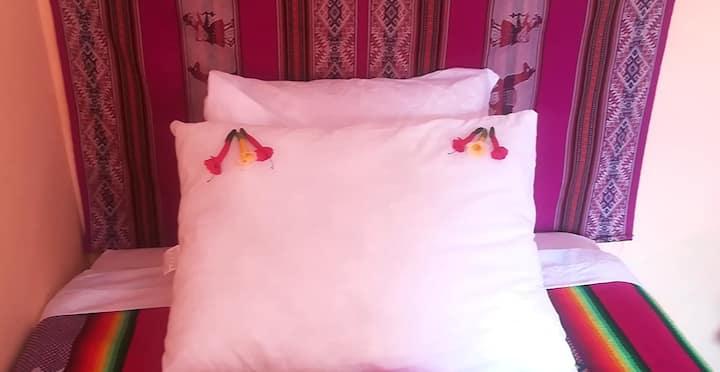 quillaptalodge doble cama individual separadas