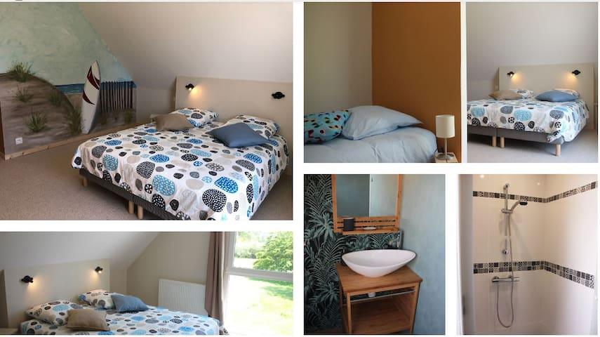 Chambre d hôte dans Gite classé 4 épis 3 couchages
