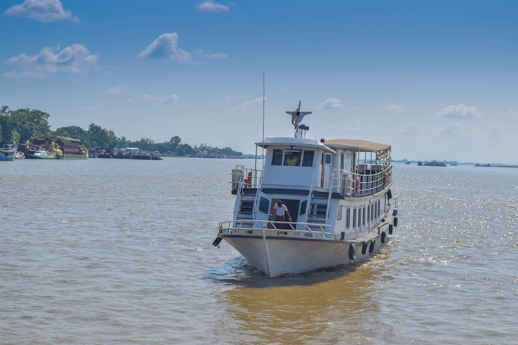 The Chindwin Butterfly on the Irrawady river