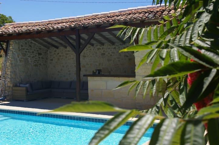 Studio cosy dans une propriété privée - Mérignas - Departamento