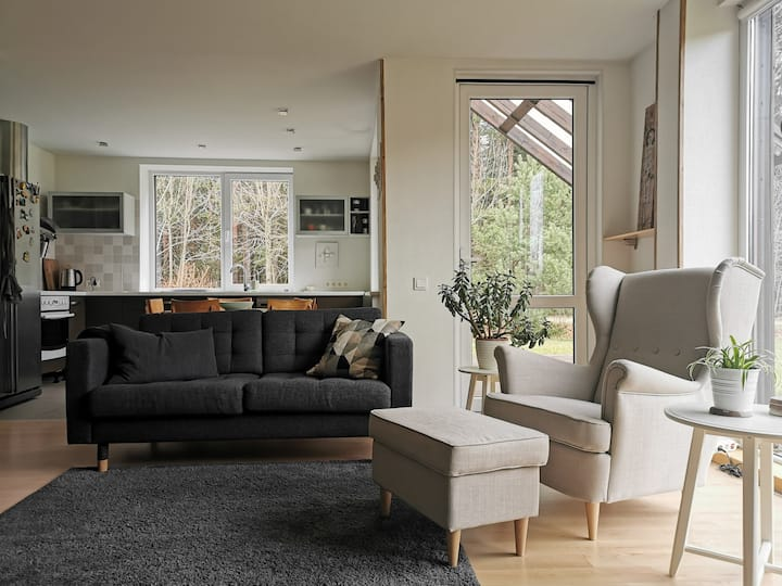 Jaybird residence - spacious house near Sigulda