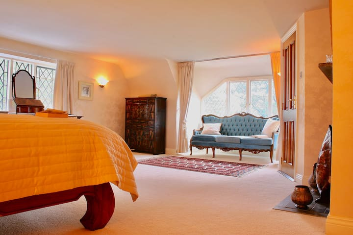 The main living area of the Master Bedroom & Honeymoon Suite