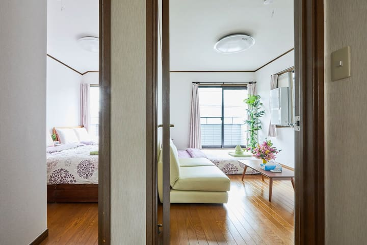 Shibuya 6 min 5 Bedroom Free parking wifi Spacious - Meguro - Ev