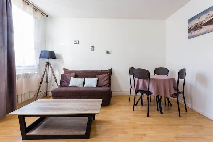 Charming appartment in 2 minutes from train statio - Bois-Colombes - Pis