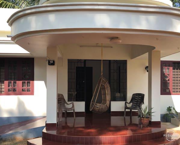 Standard room 2 in yoga ashram in Thrissur