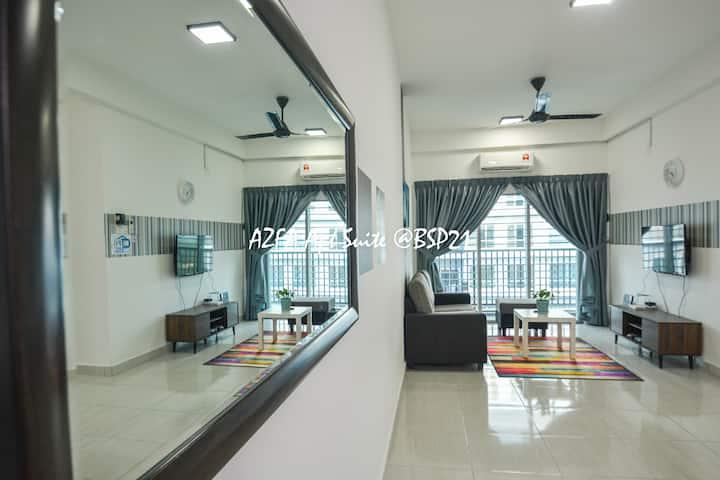 Bandar Saujana Putra BSP 21 AZFA Suite [FREE WiFi]