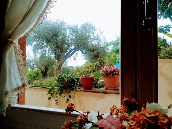 Villa Calcasacco, una finestra sul mare