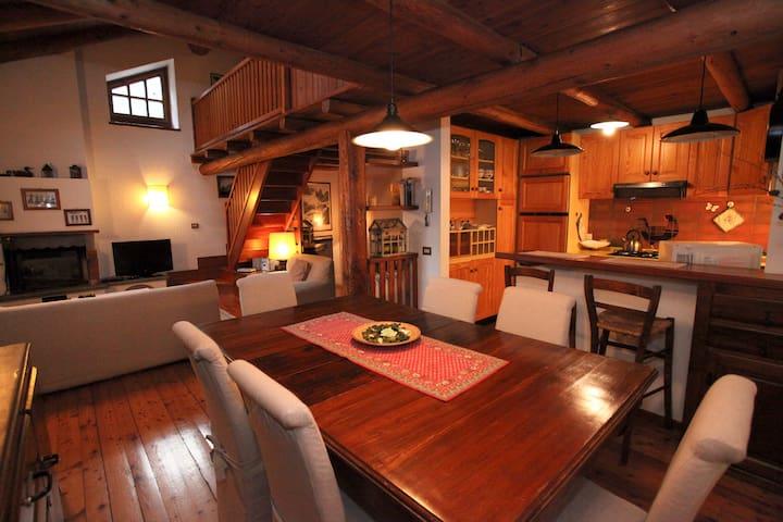 """ LE HIBOU""  tipica casa di montagna - Pre' Saint Didier - Rumah"