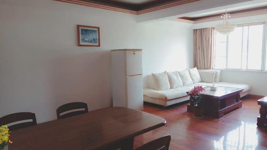 市中心,闹中取静,二房二厅整租,干净整洁 - Changzhou - Wohnung