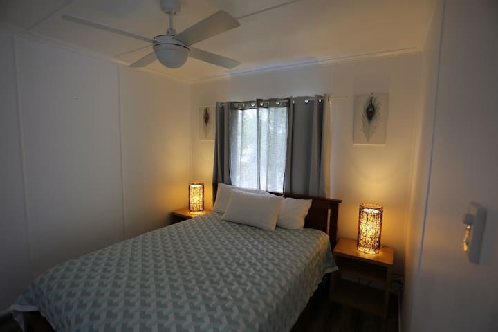 Welcoming bedroom ready for you!