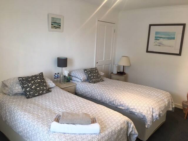 Twin Room in Lovely Findhorn House