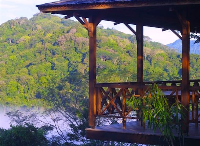 The Joglo Tree House - Puntarenas Province - Casa na árvore