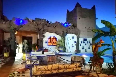 Kasbah Darla-  perfect spot for group retreats!