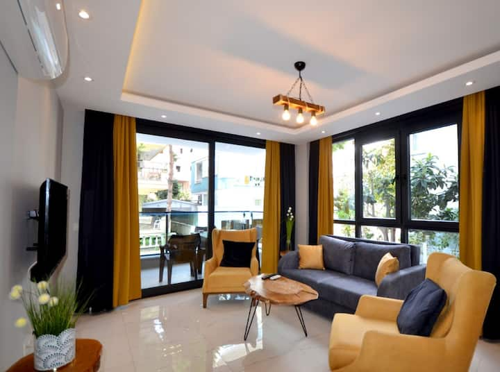 Alanya Cleopatra Beach Luxury Apartment