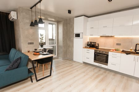 Stylish apartments in Ternopil