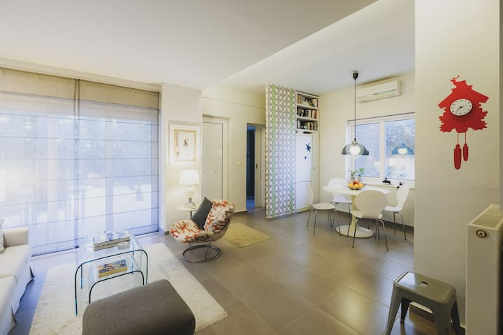 Stylish Garden Home for perfect Holidays in Chania