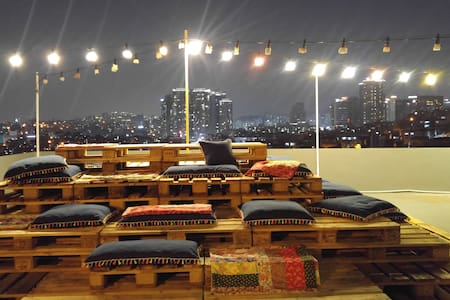 Rooftop + 2BR @ HBC _ ANDO STAY  (101) Haebangchon - Yongsan-gu