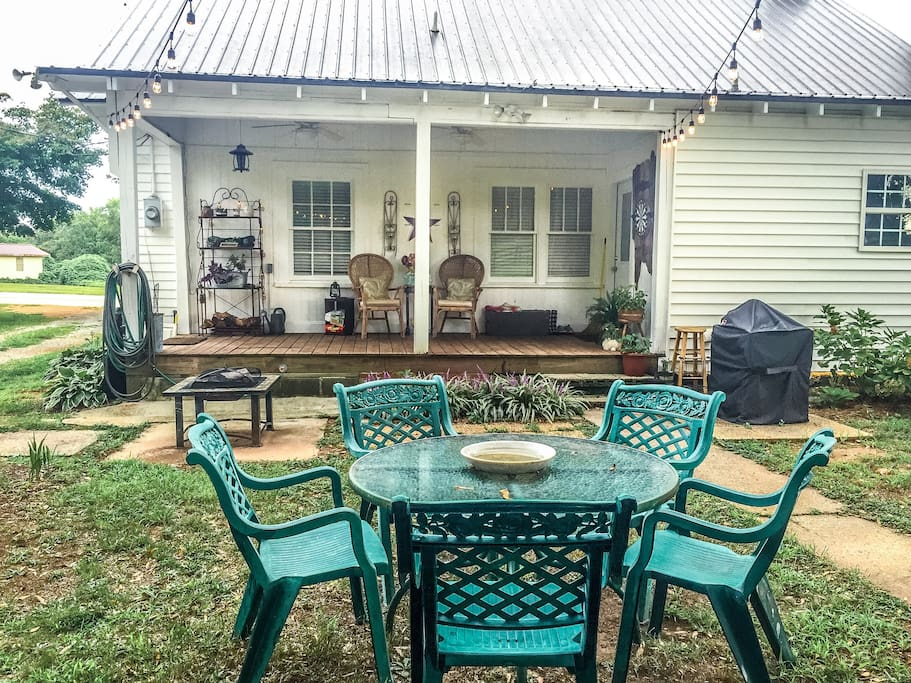 Back porch / entertaining area.