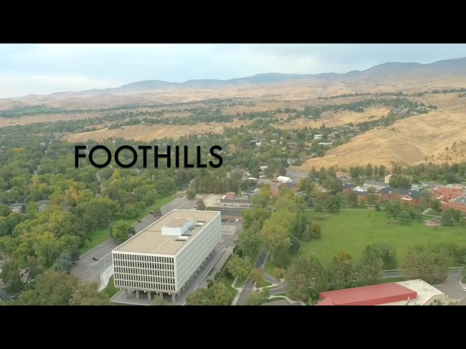 Enjoy the Boise foothills from your front door.