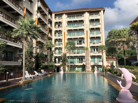 Best location in patong + pool view