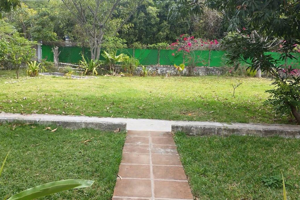 Jardín para meditar o disfrutar de un poco de sol