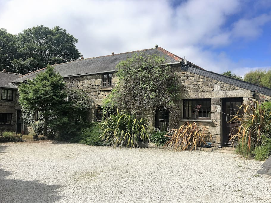 Believed to have once been a water mill, this property is steeped in history