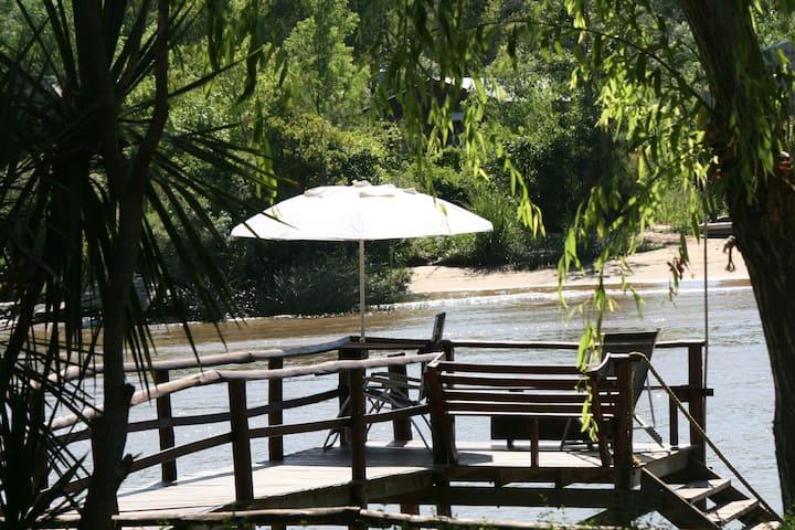 Perechocha  cabin on an island in Tigre