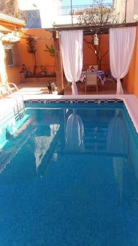 Bonita casa Andaluza a 10mints de Granada - La Zubia - House