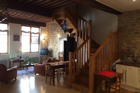 Grand appartement de caractère au coeur de Macon - Mâcon - อพาร์ทเมนท์