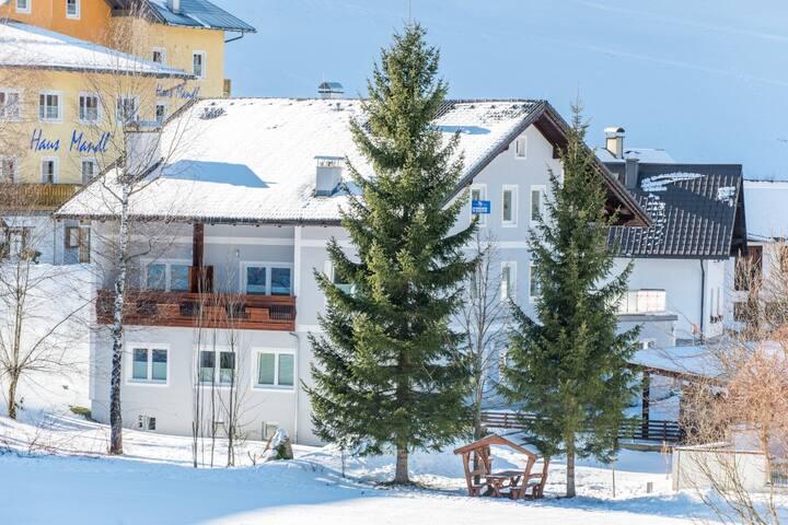 "Apart hotel ""Alpeneer""- 400m from ski lift (ap.8) - Lackenhof - Byt se službami (podobně jako v hotelu)"