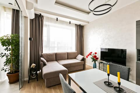 2-rooms apartment WHITE LILY 68 м2