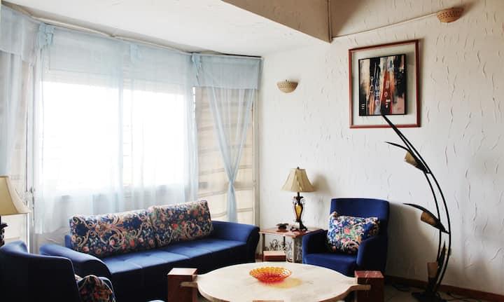 Nice 3room in bietry center, beautiful lagoon view