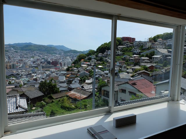 Please enjoy the superb view of the elevation 100M - Nagasaki-shi - Appartement