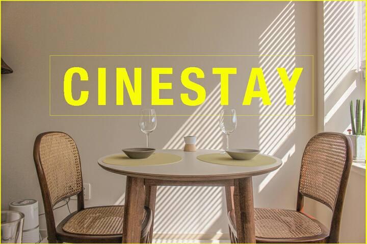 Cine Stay : 호수 뷰와 영화가 있는 공간 / 미사역 / 넷플릭스, 왓챠 / 망월천