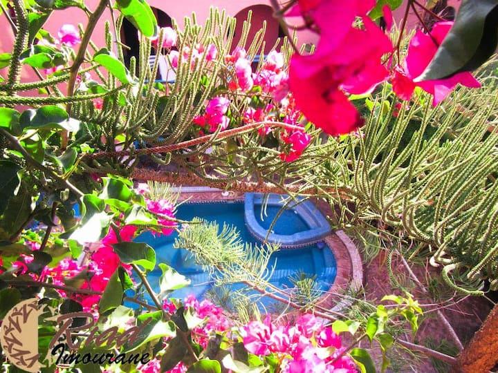 Beautiful doble room at Riad Imourane
