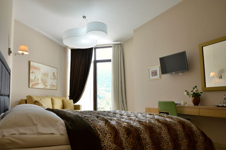 Junior Suite with Forest View in Karpenisi