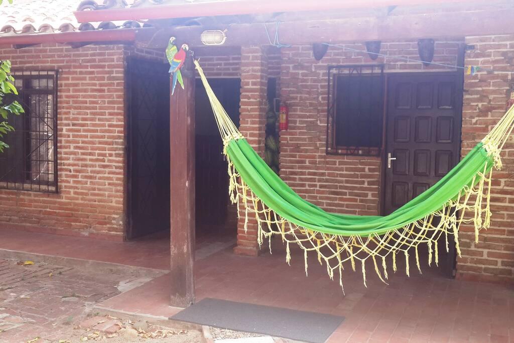 Hamacas para una siesta al aire libre