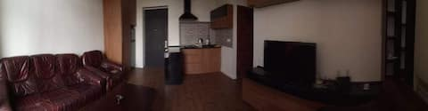Lovely 1-bedroom apartment with free parking place
