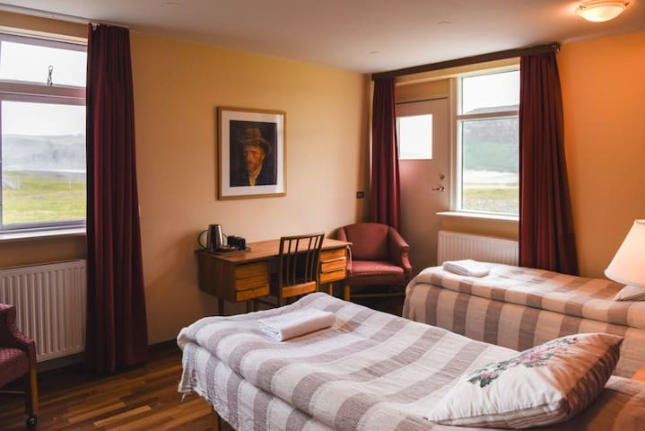 Family Room & Private Bath - Latrabjarg Cliffs