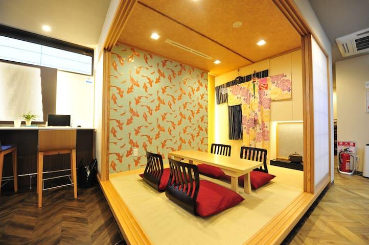 Mixed Dormitory♪Near Ginza/Tokyo/Tsukiji♪_TP7