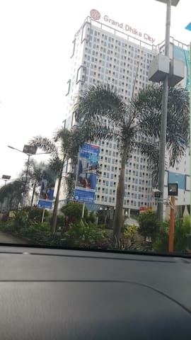 Grand dhika - LRT City (Bekasi Timur) view SMB