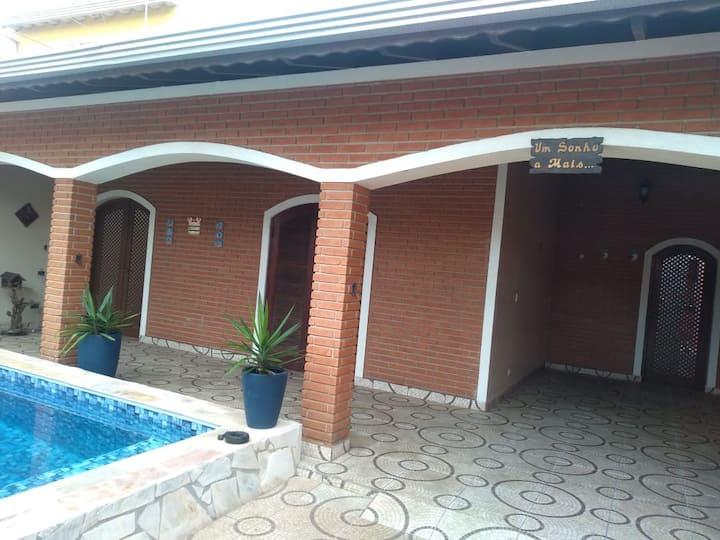 tranquilidade conforto linda casa piscina e lazer
