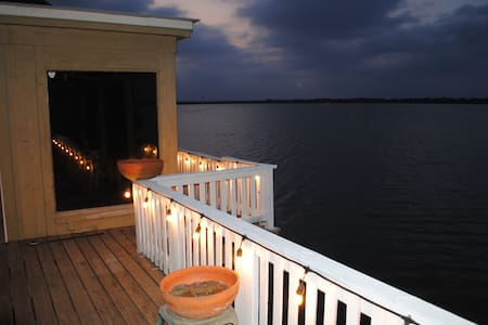 water front amaizing lake house - Edinburg - Casa