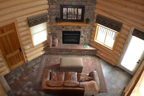 BEAT THE HEAT in our Meadow View Cabin