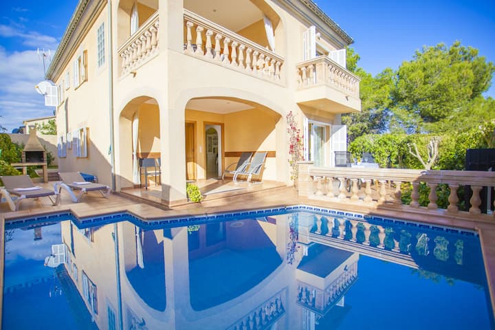 CA NA CARAGOLA - Great house with private pool near the beach Free WiFi